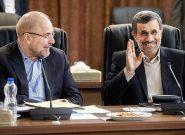 ساده لوحی سیاسی قالیباف و نقشه های زیرکانه احمدی نژاد